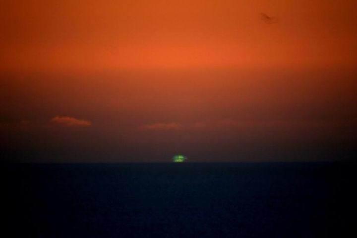 зеленый закат - 39 удивительных и сумасшедших фотографий природных явлений - часть 1