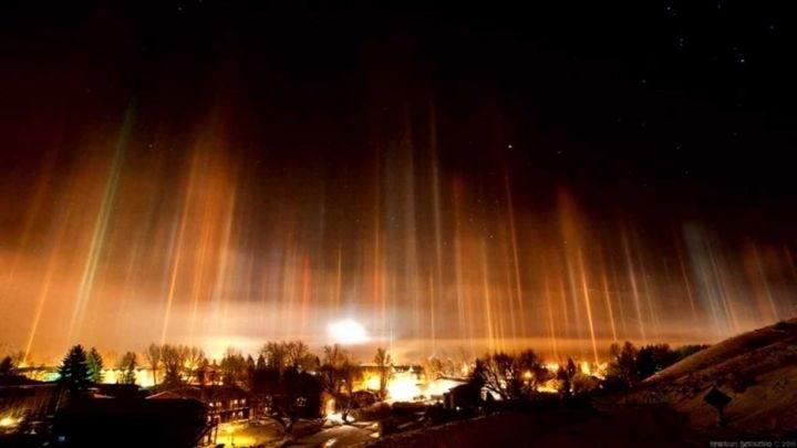 столбы света - 39 удивительных и сумасшедших природных явлений - часть 3