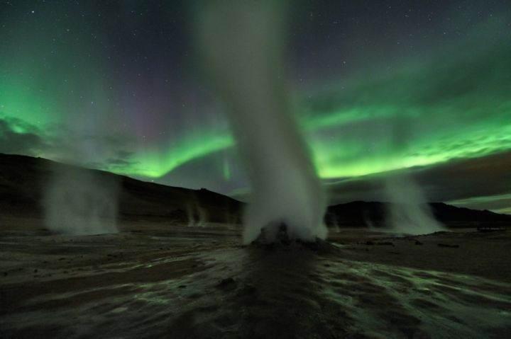 столбы пара в Исландии - 39 удивительных и сумасшедших фотографий природных явлений - часть 1