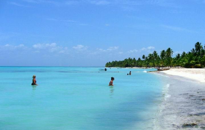 пляж острова Саона - Остров Саона – одна из жемчужин Доминиканы