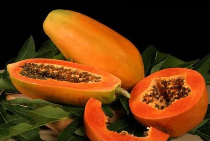 Фрукты Тайланда papaya -