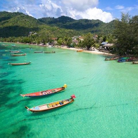 Лучшие пляжи и бухты острова Ко Тао - Сайри Бич и Чалок - Лучшие пляжи и бухты острова Ко Тао - Сайри Бич и Чалок