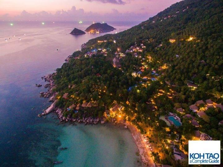 Ночной Сайри Бич - Лучшие пляжи и бухты острова Ко Тао - Сайри Бич и Чалок