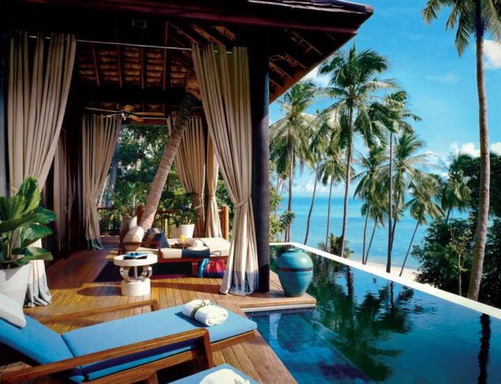 samui-four-seasons отдых самуи - Как лучше организовать свой отдых на острове Самуи в Тайланде