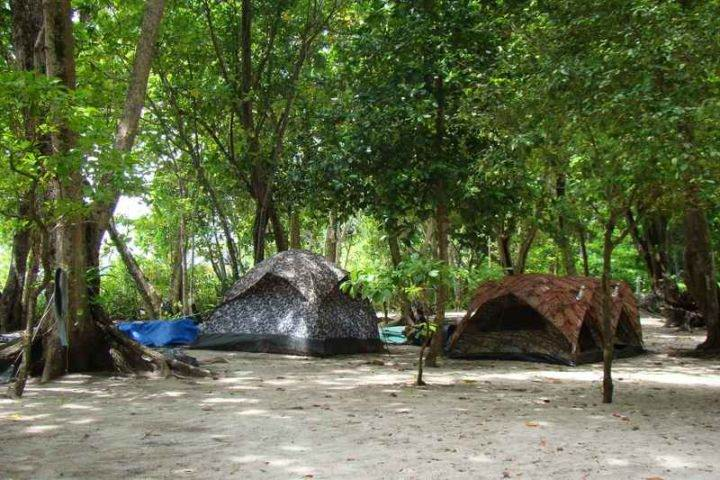 симиланские острова жильё палатка