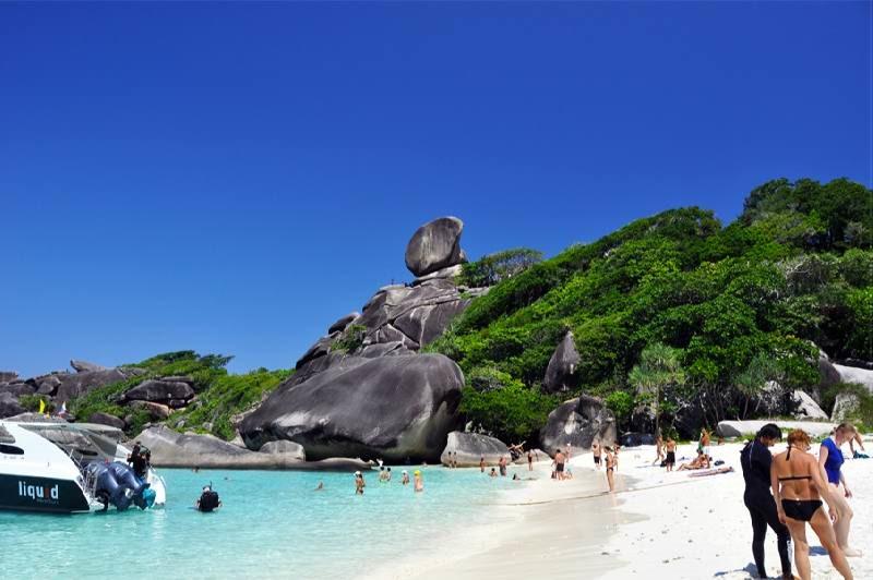 Великолепные Симиланские острова - жемчужина Тайланда