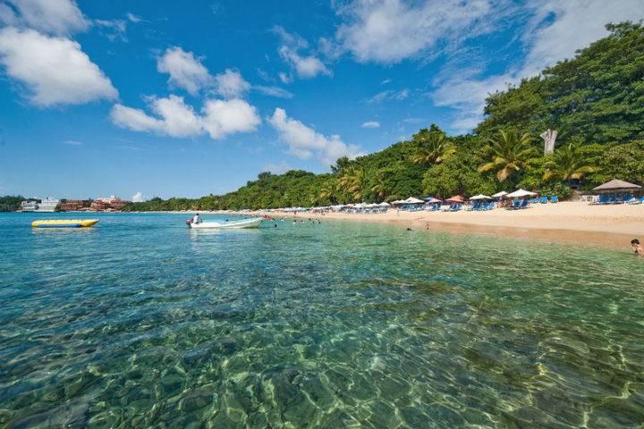 sosua beach пляж Сосуа - Для любителей красивых пляжей - пляжи Сосуа и Орлиная Бухта Доминиканы
