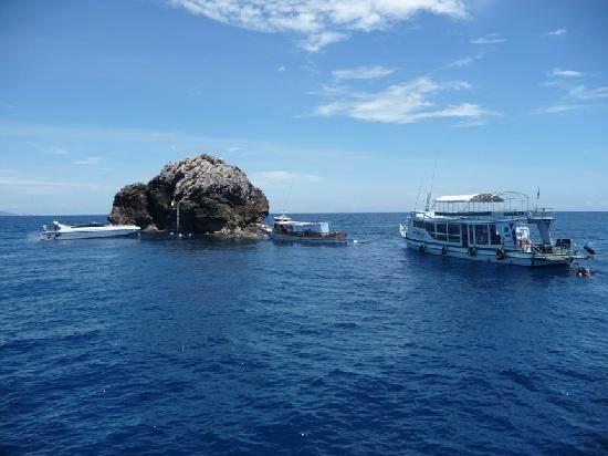 sail-rock - Обзор дайвинга на островах Ко Самуи, Ko Пха Нган и Ко Тао