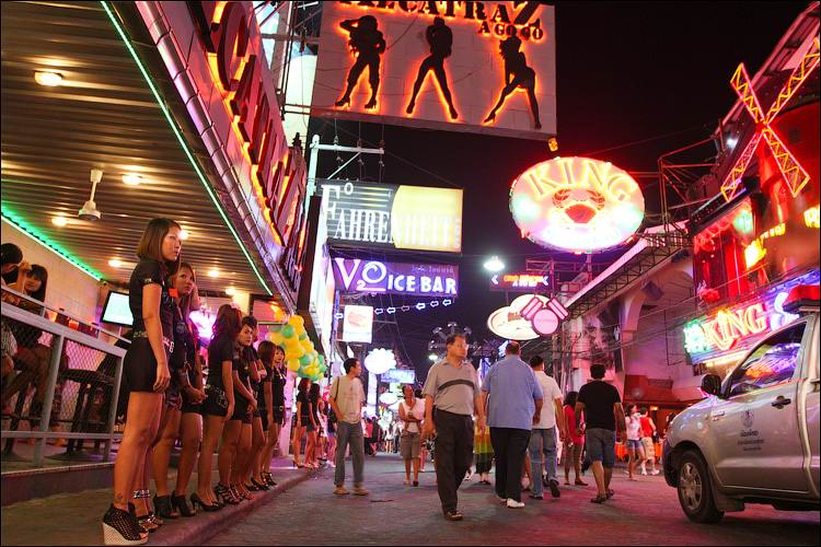 Walking Street, Pattaya, Thailand.