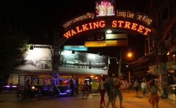 Walking Street, Pattaya, Thailand