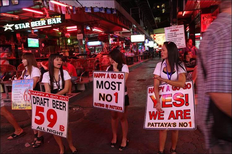 Walking Street, Pattaya, Thailand - Секс туризм в Тайланде по-русски, или путешествуем по Волкинг Стрит (часть 2)