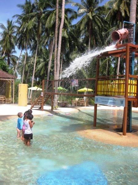 Детский аквапарк на острове Самуи - Детский аквапарк на острове Самуи