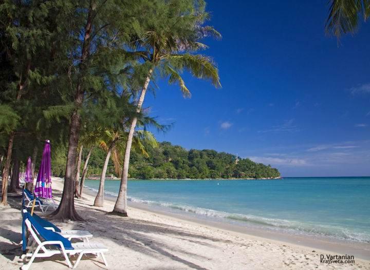Пляж Три Транг - один из пляжей острова Пхукет - Пляж Три Транг - один из пляжей острова Пхукет