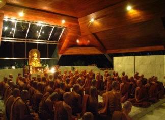 буддийский монастырь в Тайланде