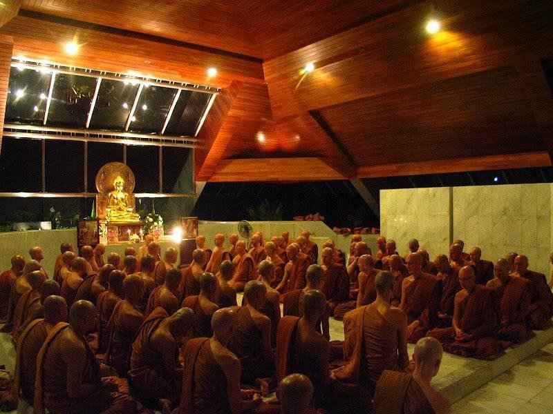 Лучшее в Тайланде: Посещение буддийского монастыря Wat Pah Nanachat