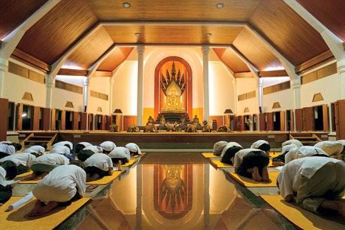 Таиланд монастырь