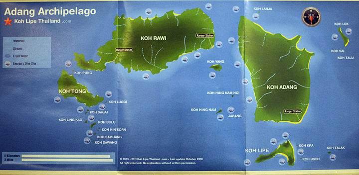 Весьма примечательный остров Ко Аданг - Весьма примечательный остров Ко Аданг