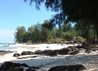 пляж острова Ко Булон Тайланд