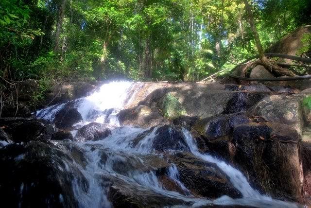 waterfall ko adang - Весьма примечательный остров Ко Аданг