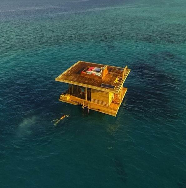 Подводный отель Manta Resort - Подводный отель Manta Resort